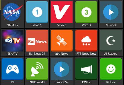Mira la TV en Windows 10 con IPTV Collection