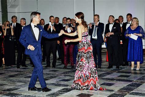 ¡Mira quién baila! Federico y Mary de Dinamarca se ...