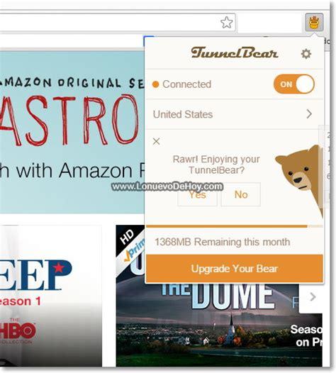 Mirar Amazon Prime Instant Video fuera de Estados Unidos ...