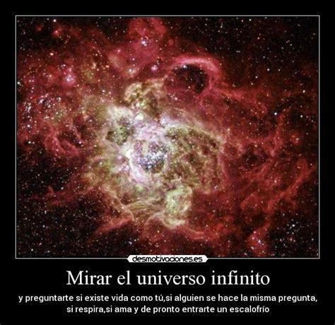 Mirar el universo infinito | Desmotivaciones