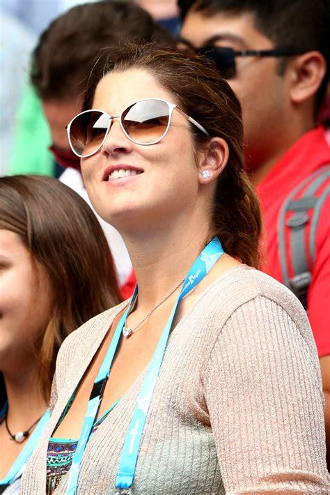 Mirka Federer Photos   2016 Australian Open   Day 9   104 ...