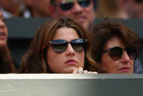 Mirka Federer Photos   Day Six: The Championships ...