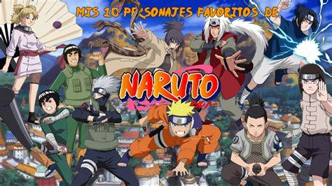 Mis 10 personajes favoritos de 'Naruto' - Zona Boom