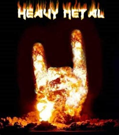Mis cinco discos de  heavy metal  favoritos | ion litio