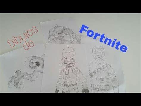Mis dibujos de Fortnite!!! - YouTube