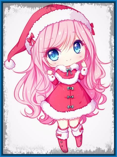 Mis Imagenes Anime Tiernas Navidad   Imagenes de Anime