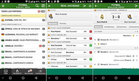 Mis Marcadores: Resultados deportivos en directo para Android