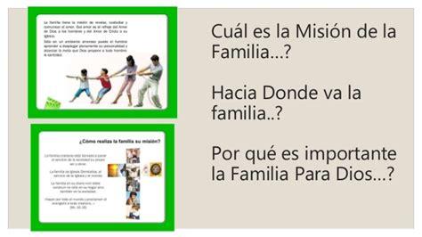 Mision de la familia cristiana