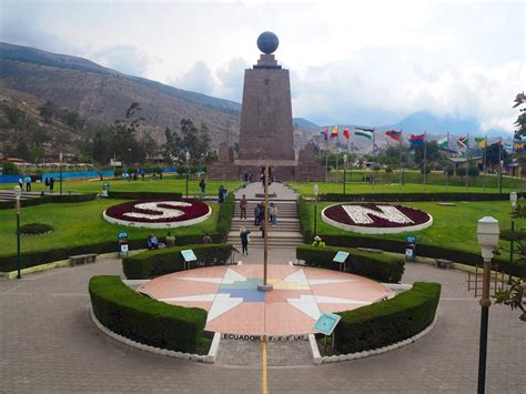 Mitad Del Mundo... Middle of the World. Or is it??   Wade ...