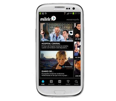 Mitele, las series y programas de la tele en tu Samsung ...