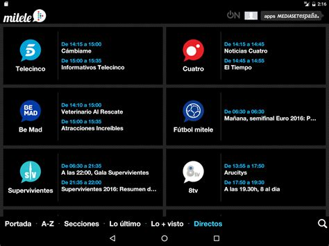 Mitele   TV a la carta   Android Apps on Google Play