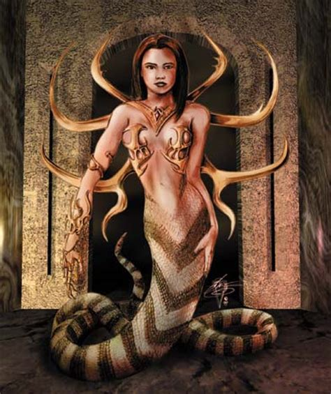 Mitología: Las nagas