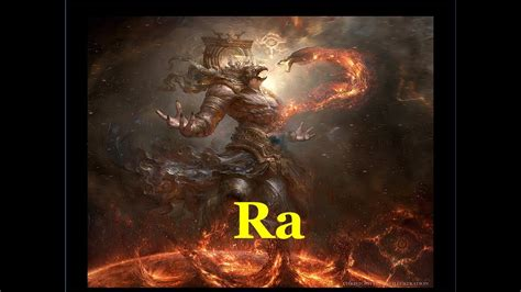 Mitología: Ra, el Dios Sol   YouTube