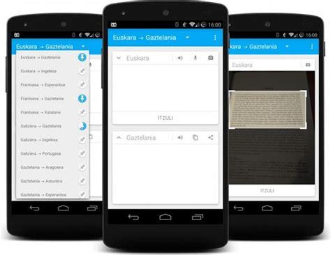 Mitzuli: un traductor libre para Android
