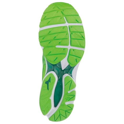 Mizuno Wave Rider 21 Green buy and offers on Runnerinn