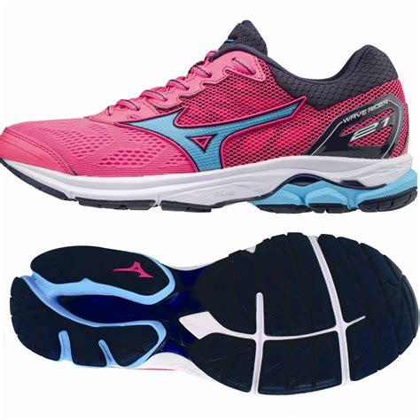 Mizuno Wave Rider 21 Ladies Running Shoes   Sweatband.com