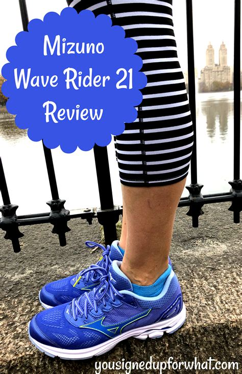 Mizuno Wave Rider 21 Review   You Signed Up For WHAT?!