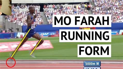 Mo Farah Running Technique: Learn to Run Faster   YouTube
