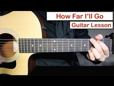 Moana Cover - How Far I'll Go - Guitar (Alessia Cara v ...