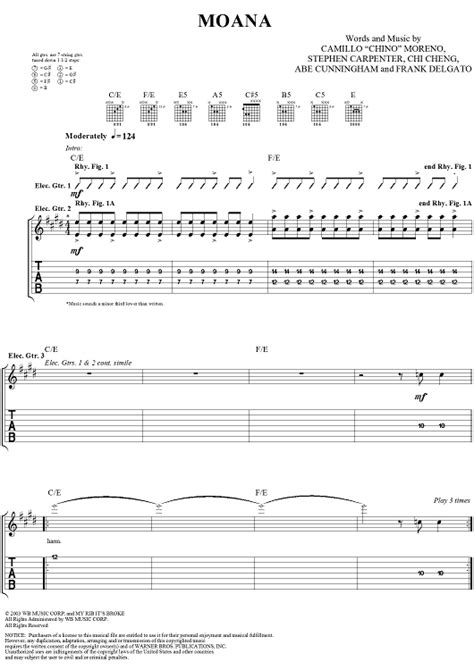 Moana Sheet Music - Music for Piano and More ...