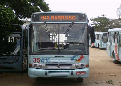 MOB Ceará: Linha 643-Barroso Circular volta a ter ônibus ...