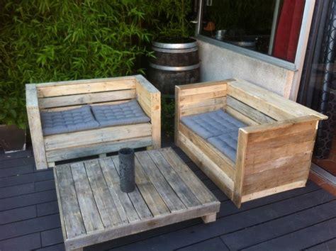 Mobiliario de jardín con palets- exclusividad en tu patio.