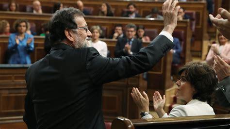 Moción de censura contra Rajoy   Rajoy: