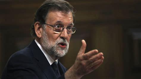 Moción de censura: Las frases de Mariano Rajoy en la ...