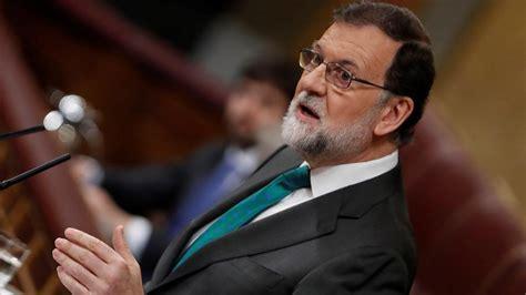 Moción de censura: Porqué Rajoy ha optado por la corbata ...