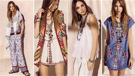 Moda tendencias Ropa de mujer hippie chic   YouTube