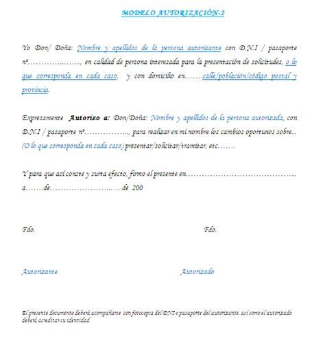 modelo autorizacioon imagen 2.png  558×580  | DOCUMENTOS ...