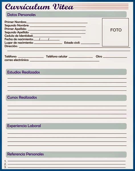 Modelo Curriculum Vitae 2015 | newhairstylesformen2014.com