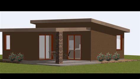 Modelo de casa de 55 metros cuadrados | Casas pequeñas ...