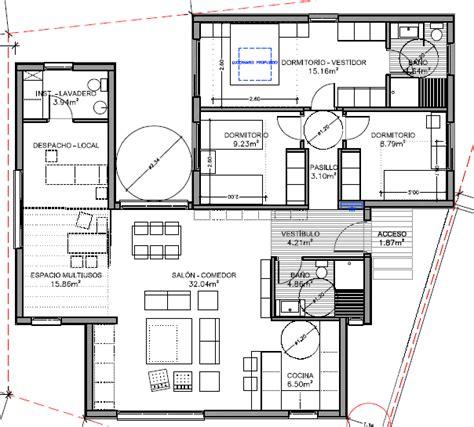 Modelo de casa prefabricada de 126 m2 construidos ...