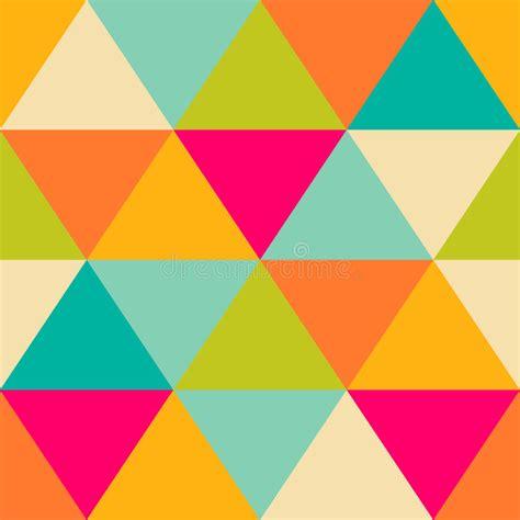 Modelo De Formas Geométricas Triángulos Texture Con El ...