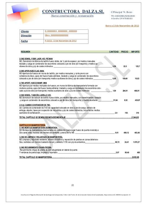Modelo presupuesto dalza pdf