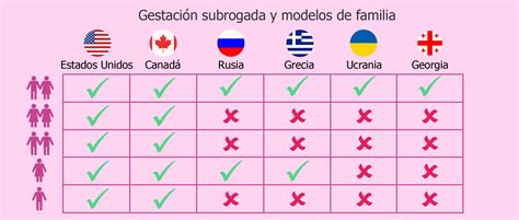 Modelos de familia aceptados para maternidad subrogada