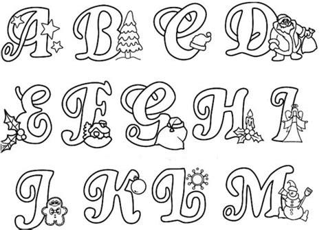 Modelos de letras para carteles para imprimir y recortar ...
