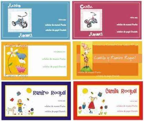 Modelos de tarjetas personales gratis para imprimir   Imagui