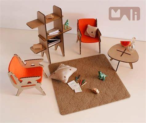 modern cardboard furniture for doll house | Crafty Kiddos ...