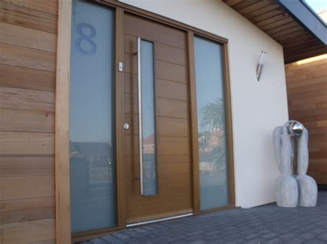 Modern Front Doors Welcoming You with Elegant Greetings ...