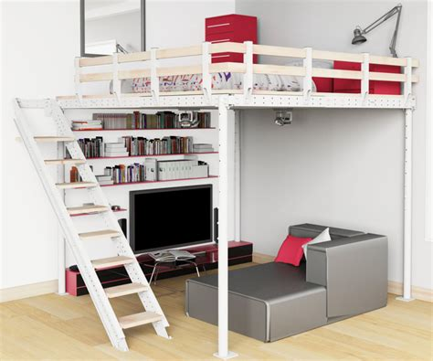 modern loft beds for adults   28 images   modern loft beds ...