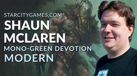 Modern: Mono Green Devotion with Shaun McLaren   Round 2 ...