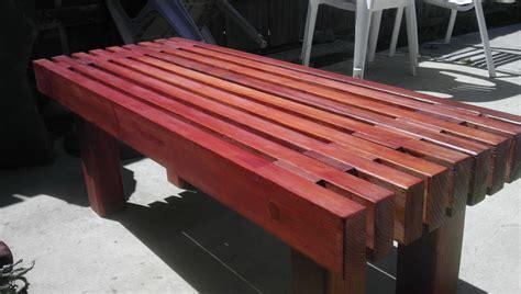 Modern Outdoor Bench Design Of Diy Wooden Garden Bench Ign ...