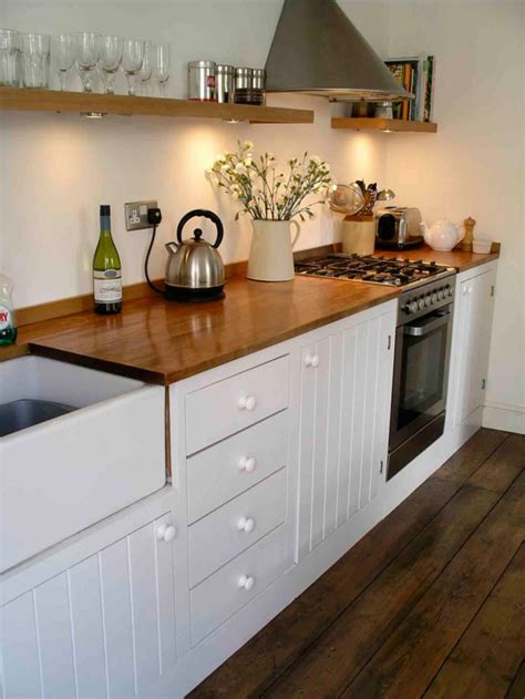 modern rustic kitchen hand built by Peter Henderson ...