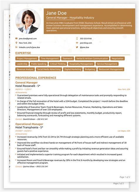 Moderno Descargar Curriculum Vitae Maker Professional ...