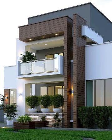 Modernos modelos de casas con terrazas y balcones