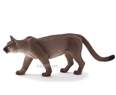Mojo Fun 387143 Mountain Lion Puma Cougar Animal Toy Model ...
