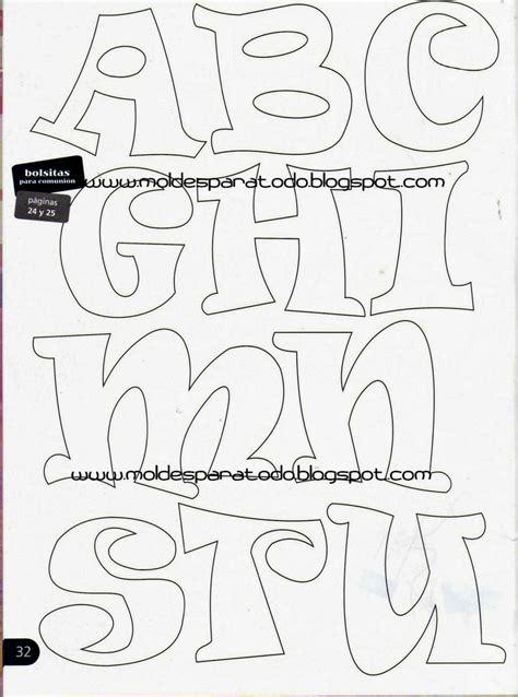 Molde de letras fieltro | letras decoradas | Pinterest ...