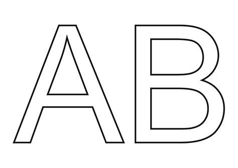 Molde de Letras Grandes para imprimir   Atividades Educativas
